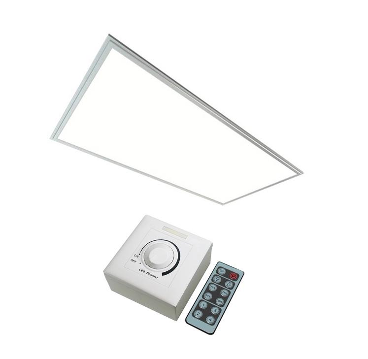 dimmable side lit led panel light 42w 120x60. Black Bedroom Furniture Sets. Home Design Ideas